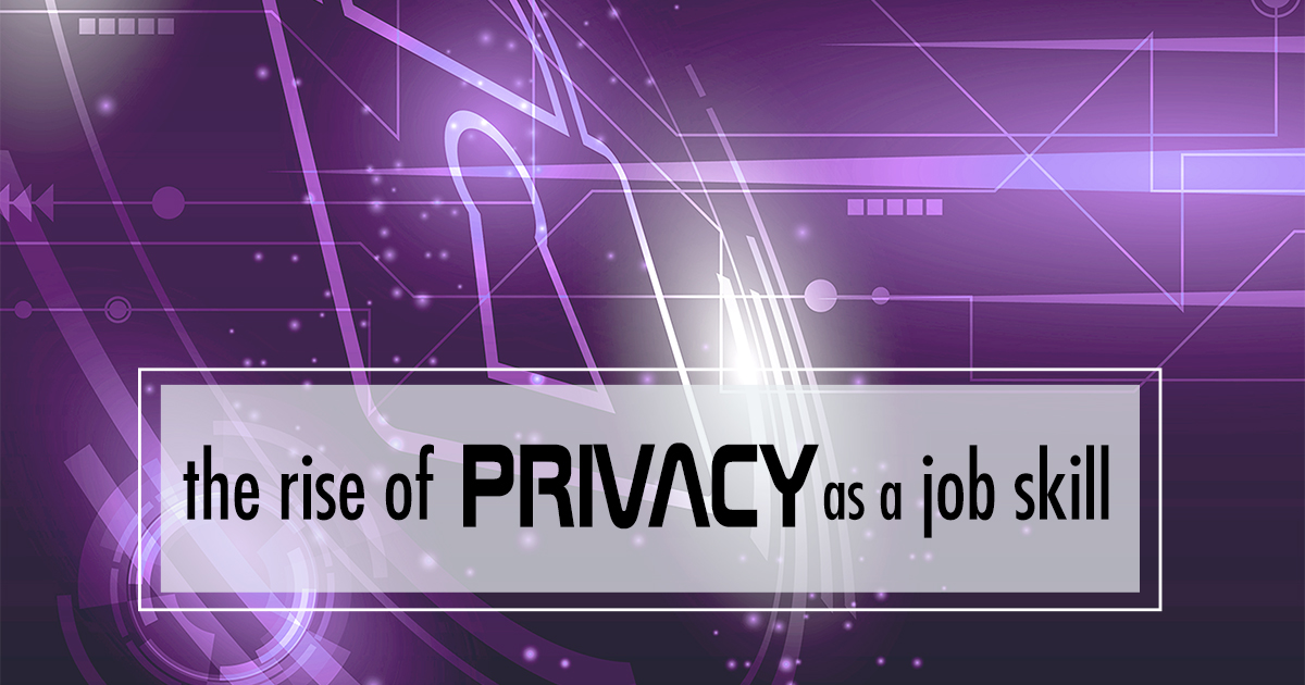 privacy as a job skill