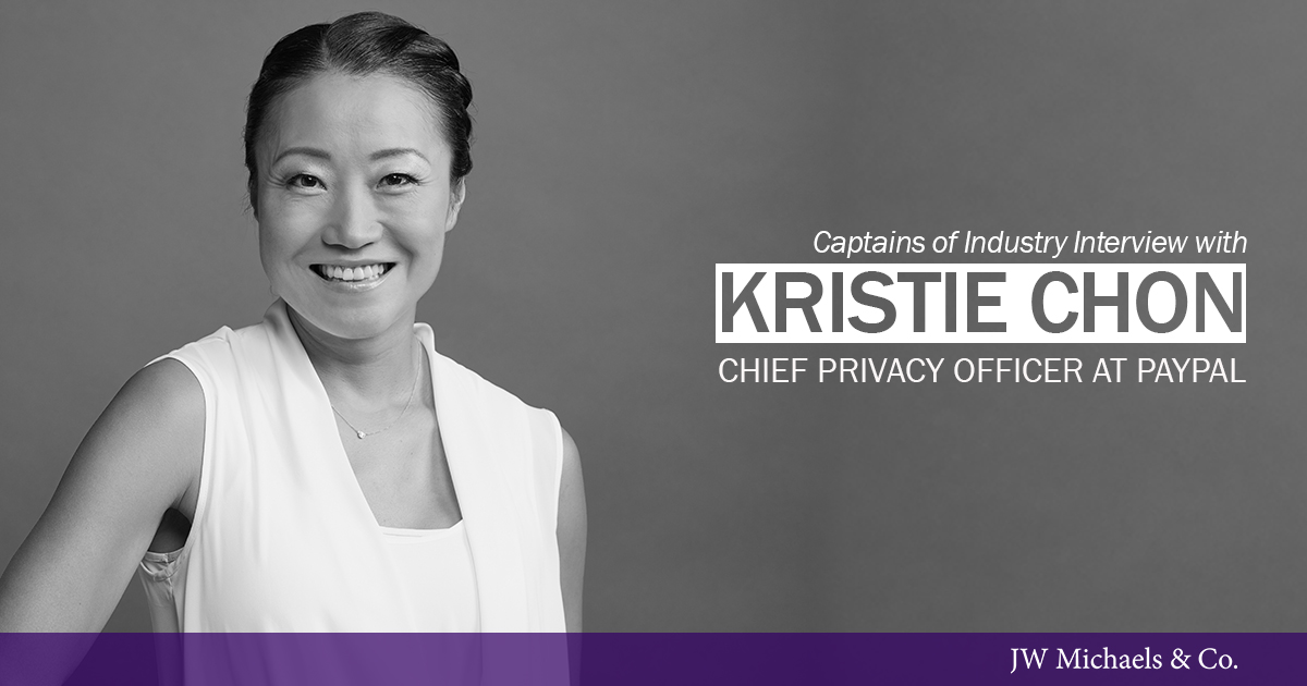 Kristie Chon Chief Privacy Officer at PayPal