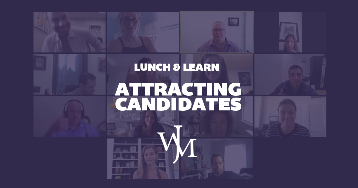 Growing Together | JW Michaels Team Launches Lunch & Learn hosted by Greg Doersching