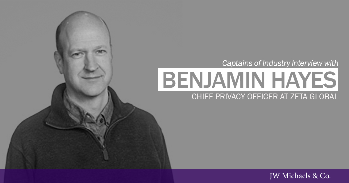 benjamin Hayes CPO Zeta Global